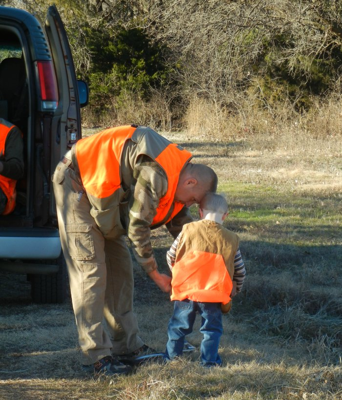 Taking little ones hunting